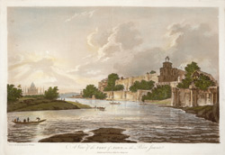 A View of the Fort of Agra, on the River Jumna(019XZZ000000307U00015000)